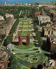 Arc deTriomf, BARCELONA 1960