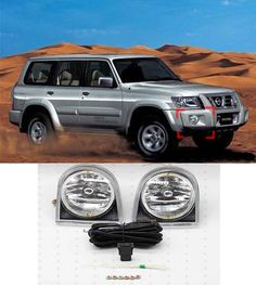 189.90$  Watch now - http://alimvs.worldwells.pw/go.php?t=32710151425 - Dedicated front fog lamps For Nissan Patrol 2003 2004