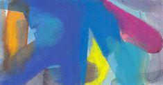 hilo negro -dibujo e ilustración-  #abstractart #painting #blue