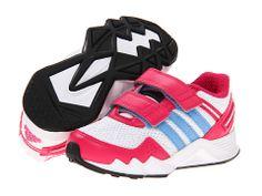 adidas Kids adifaito CF (Infant/Toddler) Running White/Blast Pink/Joy Blue - Zappos.com Free Shipping BOTH Ways