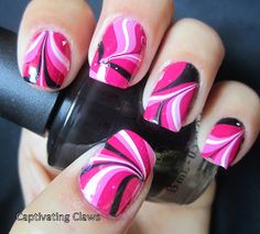 Captivating Claws: Weekly Water Marble 7/19/12