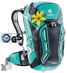 302271a976431 Attack 18 SL - Bikebackpack - Deuter Backpack Brands, Hiking Backpack, Golf  Bags,