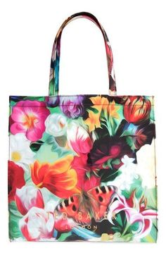 Ted Baker London 'Swircon - Large Floral Swirl Icon' Tote available at #Nordstrom