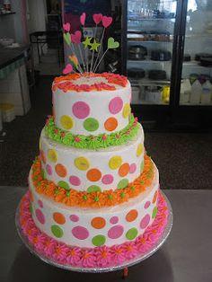 De tudo um pouco: Bolos de casamento super coloridos, e muito lindos