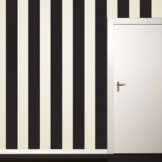 Black Stripe Wall Decal - Wall