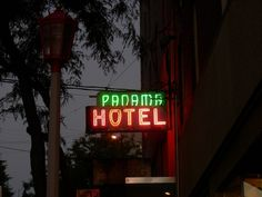 Discover Panama Hotel and Tea Shop in Seattle, Washington: Stay in a historic B&B that provides a powerful glimpse into the lives of Japanese-Americans relegated to WWII's internment camps. Panama Hotel, Seattle Travel, Sign Image, Japanese American, Unusual Things, Things To Do, Vacation, Tea, Signs