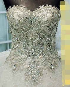 Zuhair Mural wedding dress with Swarovski crystals, hand made, 2014 White Bridesmaid Dresses, Blue Wedding Dresses, Designer Wedding Dresses, Wedding Gowns, Bling Wedding, Dream Wedding, Wedding Flowers, Wedding Dress Accessories, Beautiful Gowns