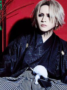 New Year`s Greetings 2018 Just him in that yukata, Mm❣️ #Ruki #MatsumotoTakanori #theGazette