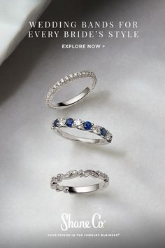 Beautiful Wedding Bands for Women and Men at Shane Co. Natural Wedding Nails, Simple Wedding Nails, Wedding Nails Design, Wedding Band Styles, Unique Wedding Bands, Wedding Rings, Wedding Ideas, Van Cleef And Arpels Jewelry, Cute Wedding Dress