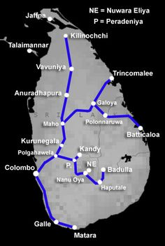 How to travel by train in Sri Lanka | Train times, fares, information