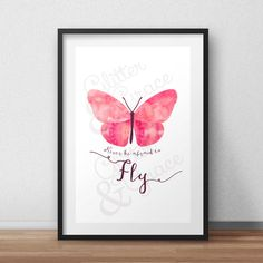 BUY 1 GET 1 FREE* Never be afraid to Fly! *Digital Printable 5x7, 8x10