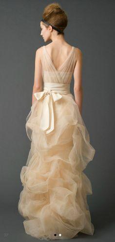 Vera Wang's bridal collection