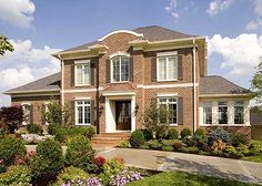 Solid Brick Stunner - 39219ST   Georgian, Southern, Traditional, Luxury, Photo Gallery, Premium Collection, 2nd Floor Master Suite, CAD Available, Den-Office-Library-Study, Jack & Jill Bath, MBR Sitting Area, Media-Game-Home Theater, PDF, Corner Lot   Architectural Designs