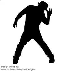 Male jazz dancers | Male Jazz Dancer Silhouette ...