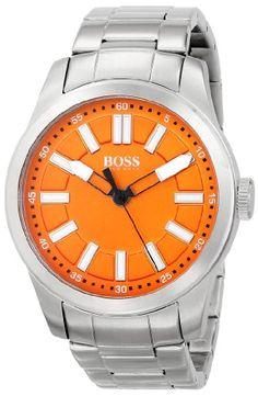 6f971e78b36 Men s Wrist Watches - BOSS Orange Mens 1512935 Big Up Analog Display Quartz  Silver Watch - · Relógios LegaisRelógios De Pulso