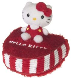 Red/White Mallet Putter Cover by Hello Kitty. Buy it @ ReadyGolf.com