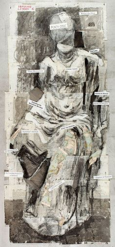 William Kentridge,   you could reproduce your own version of this....not copy exactly but take idea...