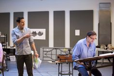 PCS Blog - Behind The Scenes: Silas & Sasha in Rehearsal - Portland Center Stage