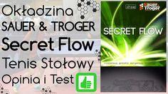 Okładzina Sauer & Troeger Secret Flow Chop do Tenisa Stołowego – Opinia i Test