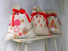 Christmas Sacks for Calico & Ivy. Kits instore (Balmain) now!