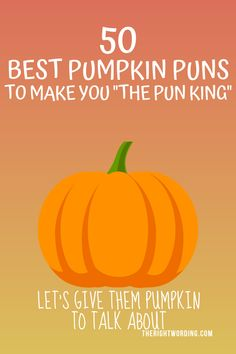 """Fall is the perfect time to find funny pumpkin puns. Here's a list of the best puns about pumpkins that will make you the """"pun"""" king! Halloween Puns, Halloween Quotes, Halloween One Liners, Halloween Garage, Halloween Witches, Happy Halloween, Best Pumpkin, Baby In Pumpkin, Pumpkin Spice"""