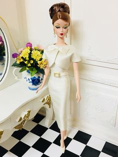 OOAK Silkstone Vintage Barbie Handmade Fashion Royalty Poppy Parker by Tinnia | eBay