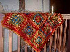 crochet newborn blanket