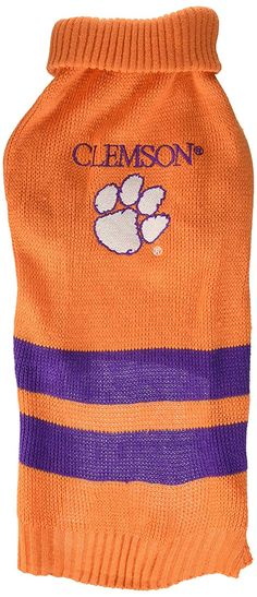 bfb6803ce Pets First Clemson University Dog Sweater   Nice of your presence to drop  by to view