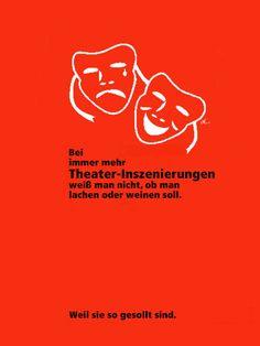 'Theater?' von Dirk h. Wendt bei artflakes.com als Poster oder Kunstdruck $19.41