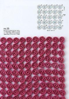 Книга: Continuous Crochet Motifs 2016 (Б - Post - Marecipe Hexagon Crochet Pattern, Crochet Motifs, Crochet Circles, Crochet Stitches Patterns, Crochet Diagram, Crochet Chart, Crochet Squares, Crochet Designs, Knitting Patterns