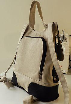 mochila - tofustudio Mochila Jeans, Diy Bags Patterns, Backpack Pattern, Latest Bags, Jute Bags, Linen Bag, Patchwork Bags, Denim Bag, Fabric Bags