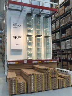IKEA Alcorcon, Madrid, Self Serve Furniture Area display