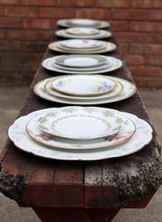 plate -- vintage crockery rental & rescue