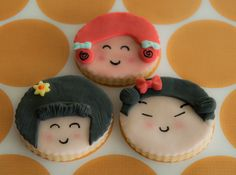 Dear Cookies inspired by Japan and Japanese anime