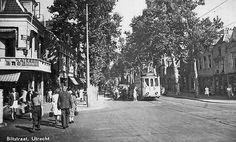 Biltstraat | Jaren 40 | Eens 'een lommerrijke buitenweg', nu een 'binnenstadsstraat' Utrecht, Netherlands, Holland, Dutch, Street View, Black And White, City, Historia, Pictures