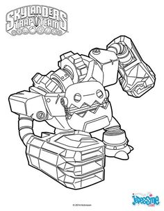 44 best Skylanders images on Pinterest   Coloring pages, Coloring ...