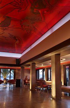 """Katavothres"" club-restaurant in Kefalonia island, Greece Shop Around, Cafe Interior, Coffee Shop, Greece, Around The Worlds, Restaurant, Club, Island, Spaces"