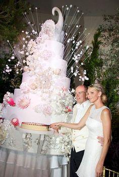 Prince Albert of Monaco-what a cake.