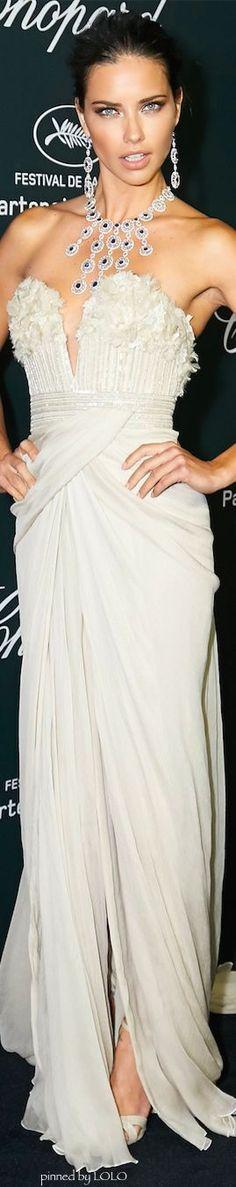 Adriana Lima in Elie Saab...2014 Cannes Film FestivalPM:
