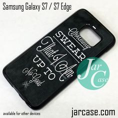 Harry-Potter Quote I Solemnly Swear Phone Case for Samsung Galaxy S7 & S7 Edge