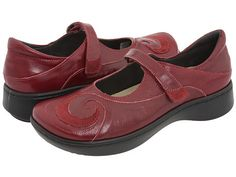 Naot Footwear Sea Queen's Wine Nubuck/Merlot Leather - Zappos.com Free Shipping BOTH Ways
