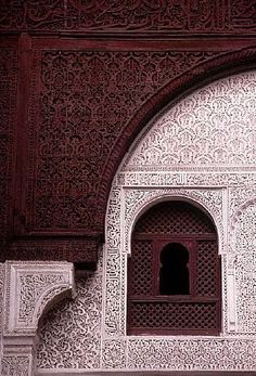 Moroccan art...  www.asilahventures.com                                                                                                                                                                                 More #islamicarchitecture