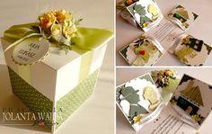 Pracownia - Jolanta Wajda Magic Box, Exploding Boxes, Gift Wrapping, Diy Costumes, Simple, Paper Wrapping, Wrapping Gifts, Gift Packaging, Present Wrapping