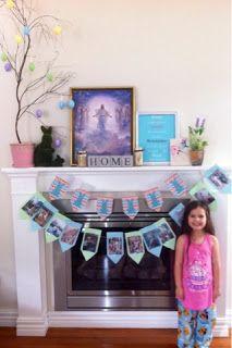 Easter + decorations + Jesus + bunting + DIY easter egg tree