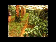Serre Souterraine La Maison de L'Eclot, pour avoir une production toute l'année dans le respect de l'environnement  Underground greenhouse to get a year-round production respecting the environmental