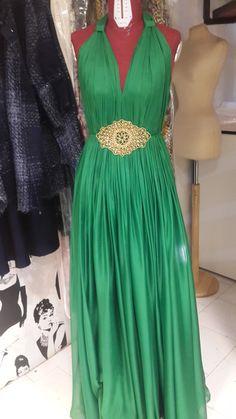green  chifon