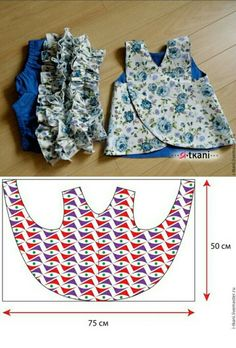 for babies and babies-sewing – - Kindermode Ideen Baby Dress Patterns, Baby Clothes Patterns, Clothing Patterns, Pillowcase Dress Pattern, Childrens Sewing Patterns, Kids Patterns, Baby Sewing Projects, Sewing For Kids, Knitting Projects