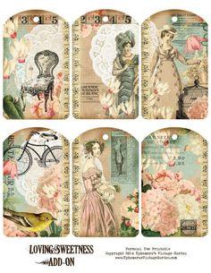 Imprimolandia: Etiquetas vintage