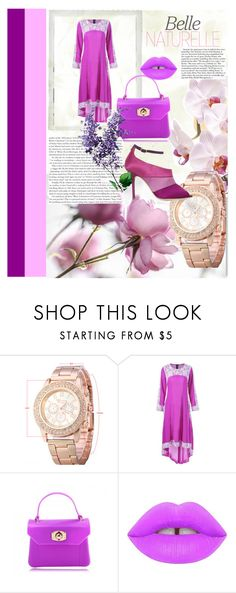 """""""Zaful #27"""" by s-o-polyvore ❤ liked on Polyvore featuring Lime Crime, Malone Souliers and Polaroid"""