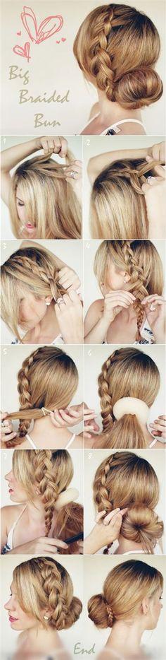 14 Totally Trendy Hair Bun Tutorials